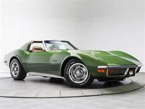 1970 chevrolet corvette stingray 454 c3 supercar