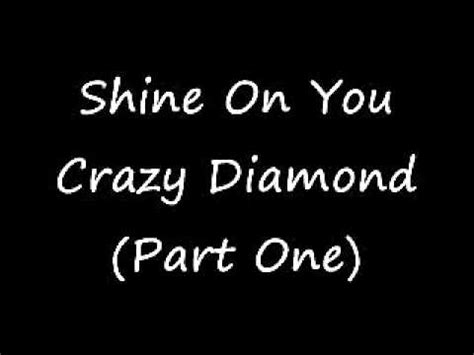 shine on testo shine on you parte 1 pink floyd