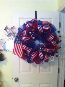 homemade 4th of july decorations patriotic wreaths