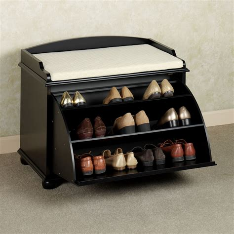 shoe organizer bench auston shoe storage bench
