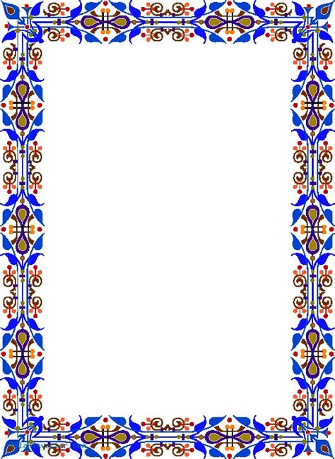 islamic pattern border islamic border joy studio design gallery best design
