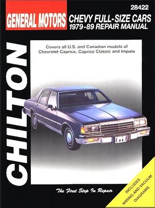 chilton s 1979 chevrolet camaro automotive repair manual free download programs blogsbusy chevy caprice caprice classic impala repair manual 1979 1989