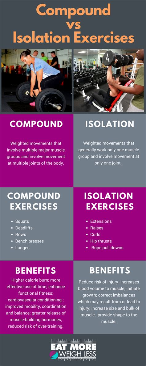 compound vs isolation exercises workouts ジム 健