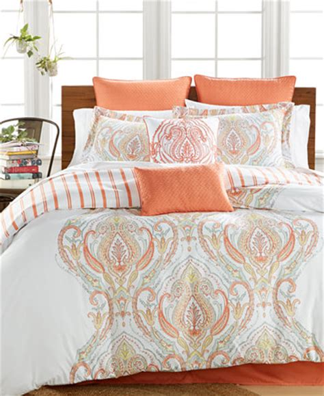 coral queen comforter sets jordanna coral 8 pc queen comforter set bed in a bag