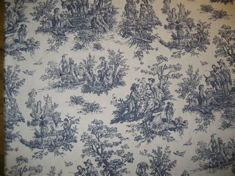 toile upholstery fabric upholstery slipcover drapery fabric red blue toile ebay