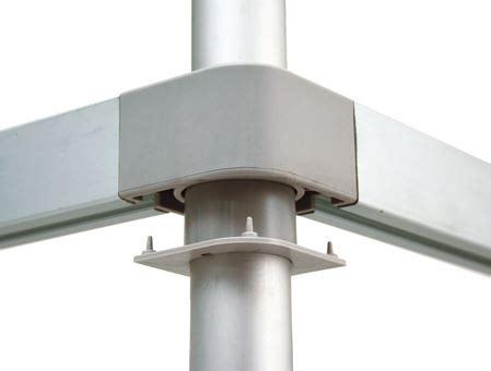 scaffale alluminio scaffale in alluminio 4 ripiani dim cm 130x50x160h