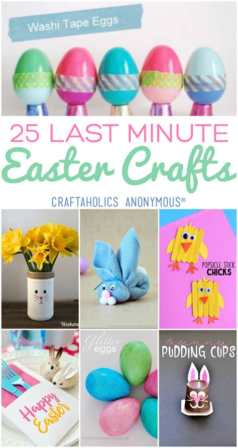 last minute crafts craftaholics anonymous 174 last minute easy easter crafts