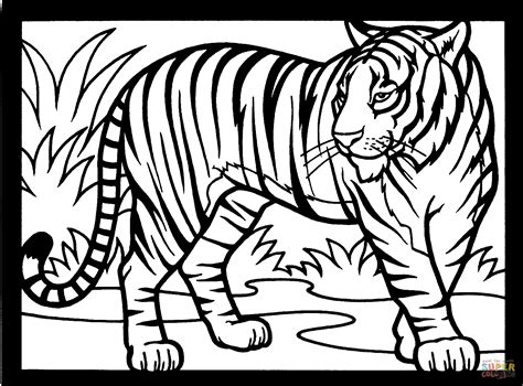 intricate tiger coloring pages free intricate cat coloring pages