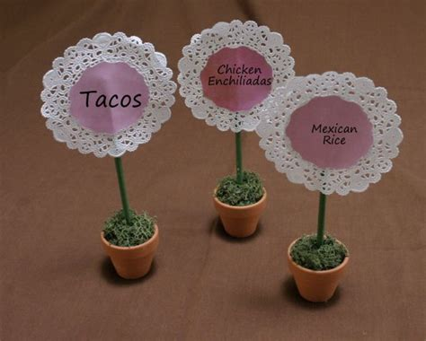 buffet food tags buffet idenfiers weddingbee photo gallery