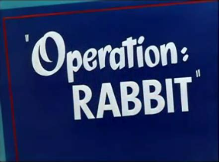 looney tunes title card template operation rabbit wikidata
