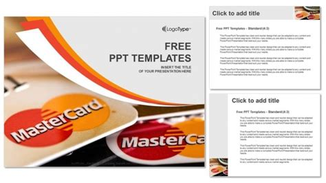 Credit Card Powerpoint Template by Credit Cards Powerpoint Templates