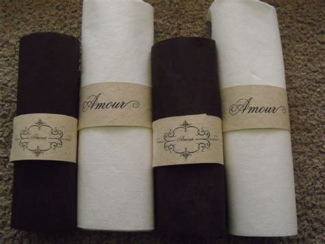 printable paper napkins diy projects printable napkin rings