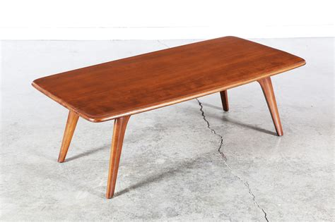 mid century heywood wakefield coffee table vintage
