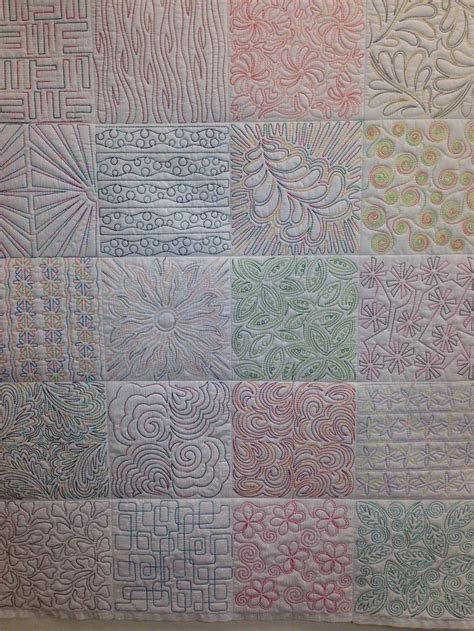 free motion quilting tutorial pinterest free motion quilting designs