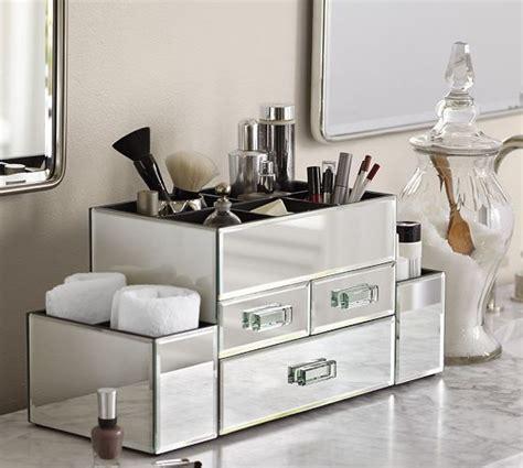 Makeup Bathroom Storage Best 25 Pottery Barn Mirror Ideas On