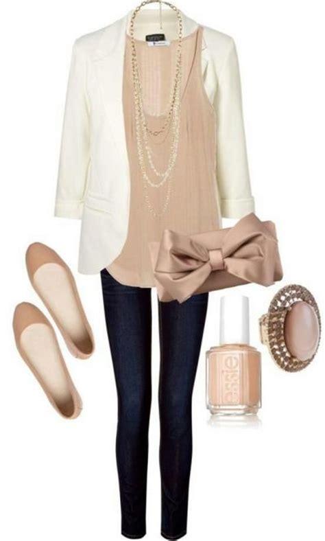 neutral colors fashion pinterest white blazer neutral colored tank black jeans pants