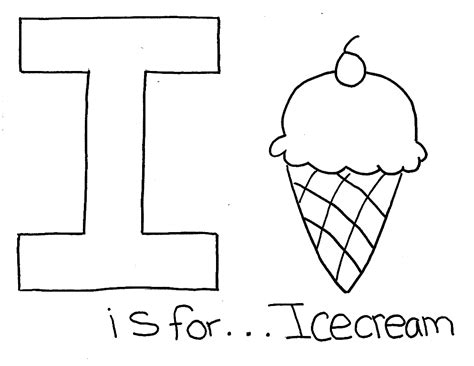 letter i is for iguana coloring page free printable letter i for ice cream alphabet color pages alphabet