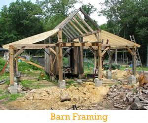 Post And Beam Shed Construction by Building A Post And Beam Shed Images