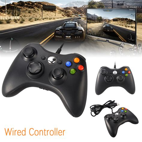 Joystick Usb Analog new wired usb pad controller joystick for microsoft