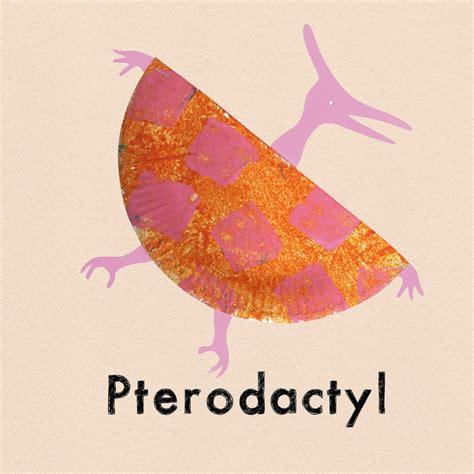 Paper Dinosaur Craft - pterodactyl dinosaur crafts