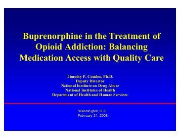 Buprenorphine Detox Regime by Opioid And Non Opioid Analgesics In The Icu Pact