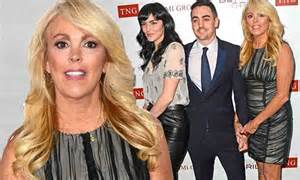 Dina Lohan Own Tv Show Ahead Of Daughters Stint In Rehab by Dina Ali And Michael Fill In For Lindsay Lohan At