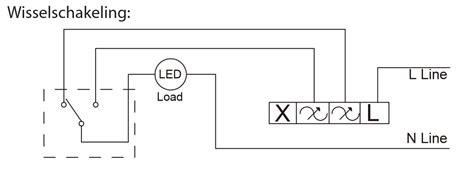 dimmen led verlichting aansluiten hoe kan ik een inbouw led dimmer aansluiten ecobright