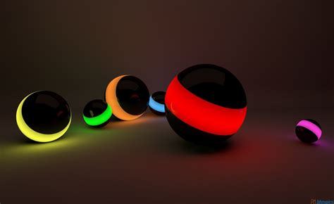 wallpaper for laptop 3d 3d hd colorful ball for laptop free download wallpaper