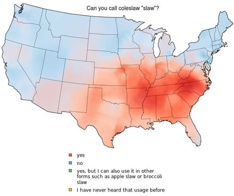 pattern of dialect quiz dialect maps of the united states neatorama