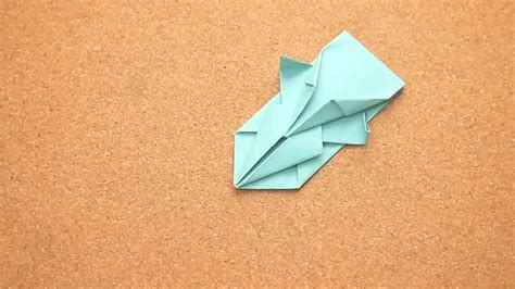 Spaceship Origami - how to make an origami spaceship 13 steps with pictures