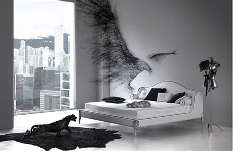 black and white home design inspiration elegant black and white bedroom design inspiration