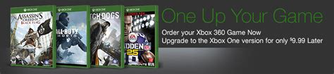amazon xbox one games amazon offering xbox 360 to xbox one game upgrade