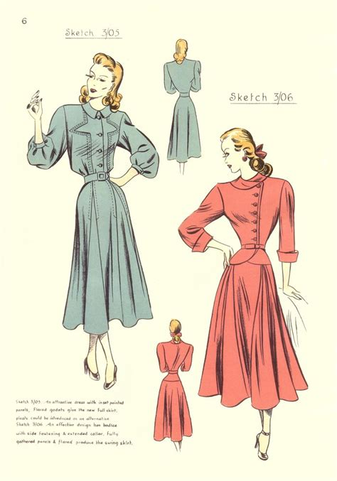 vintage pattern cutting vintage fashion designs and pattern cutting instructions