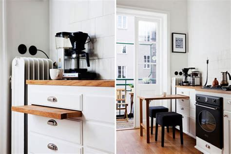 tiny kitchen a smart dining solution for tiny kitchens a pull out