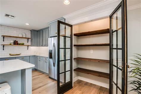 kitchen pantry shelves kitchen pantry with stacked reclaimed wood shelves