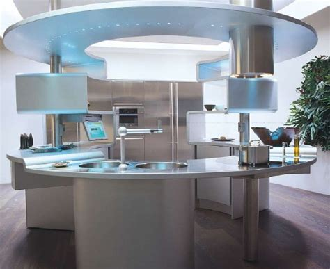round kitchens designs grey italian kitchen design with round table ideas old