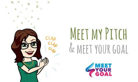 meet my pitch meet your goal effervescience