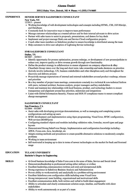 consultant resume template 9 free samples examples format