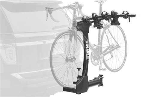 thule swing away bike carrier thule 9031xt vertex swing away hitch bike rack