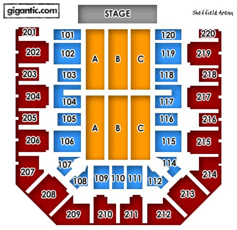 sheffield arena floor plan under 14s are not permitted in the standing area they
