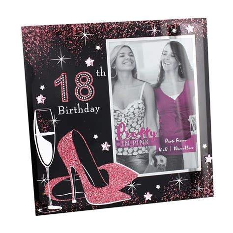 Pretty In Pink Th  Ee  Birthday Ee   Glphoto Frame With