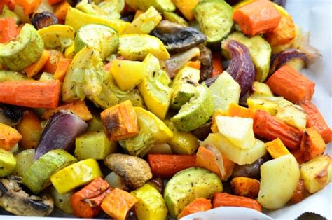 oven roasted vegetables recipe genius kitchen