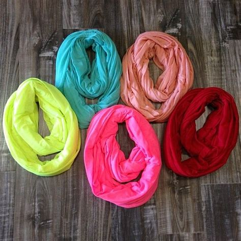 bright colored infinity scarves scarf lovin