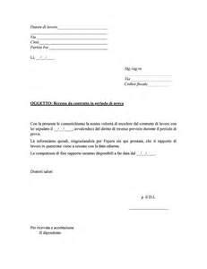 lettere di disdetta affitto disdetta affitto inquilino