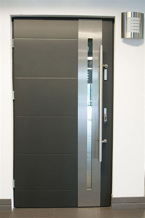 Steel Door modern exterior doors stainless steel modern entry door
