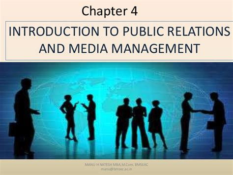 Bms Evening College Mba by Relations And Media Mgt
