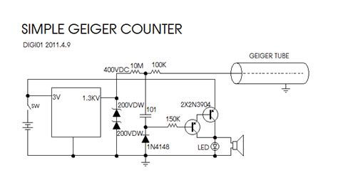 geiger counter diagram home made geiger counter let s make robots robotshop