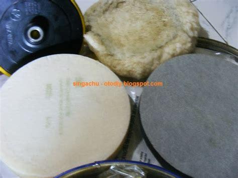 Foam Polishing Pad 3m 5725 Busa Hitam Untuk Step 2 diy membuat backing plate 3 inch untuk rotary polisher ken