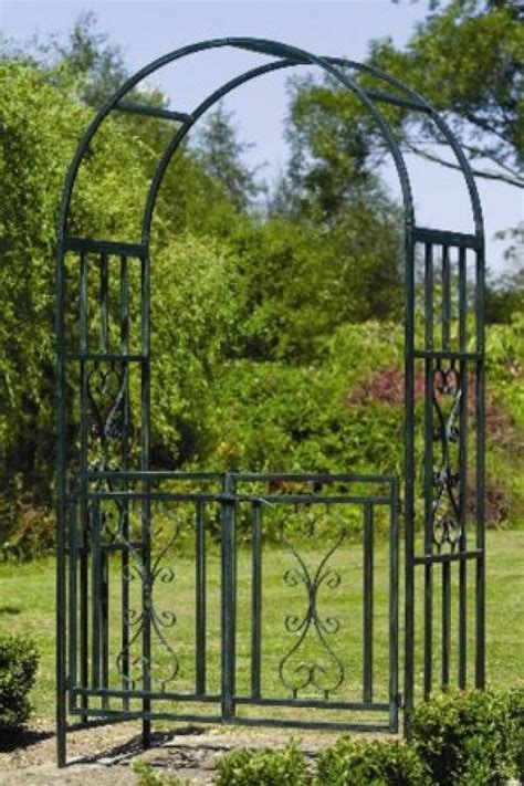 Garden Arch Gate Uk by Gardman Kensington Arch Gate 07798 Garden Mall