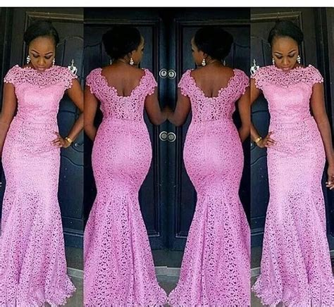 latest cord lace and styles aso ebi with cord lace styles in nigeria 2017 naija ng